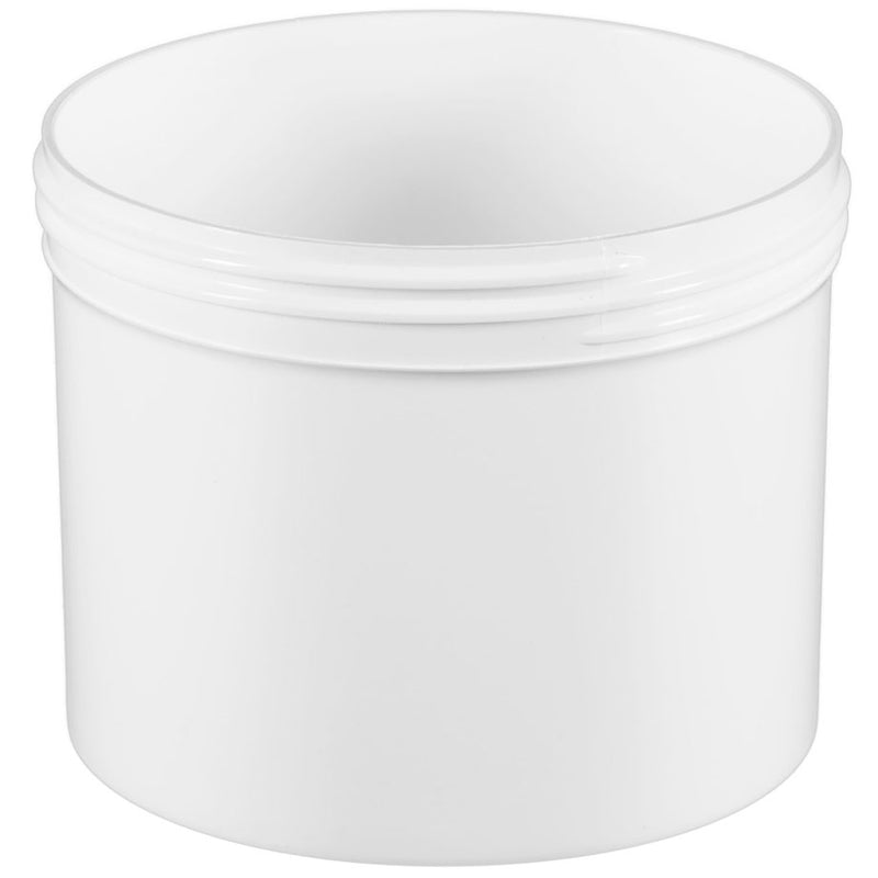 32 oz. White PP Plastic Jars (120-400)