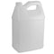 128 oz. (1 Gallon) Natural HDPE Plastic F-Style Jug (38-400)