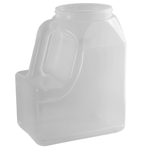 160 oz. Natural PP Plastic Handleware Bottles (110-400)