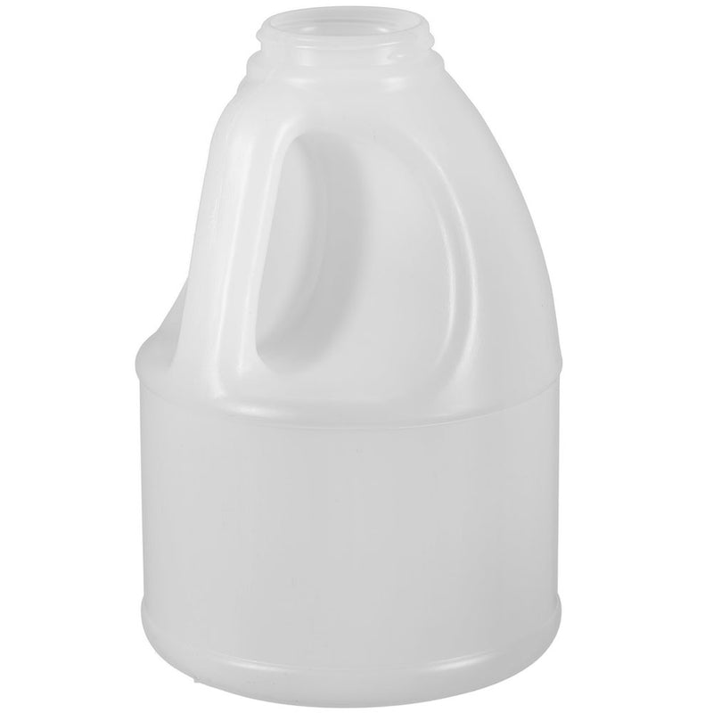 56 oz. (5 lbs.) Natural HDPE Round Plastic Honey Bottles (53-400)