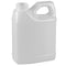 16 oz. Natural HDPE Plastic F-Style Bottle (33-400)