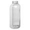16oz Clear PET Square Bottle (38mm IPEC)