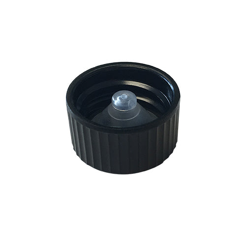18-400 Black Phenolic Caps w/ Poly-Seal Cone Liner (Inside)
