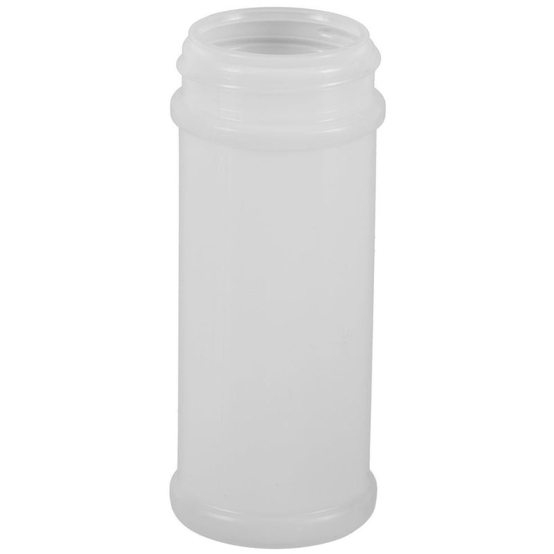 5.5 oz. Natural HDPE Plastic Spice Bottles (48-485)
