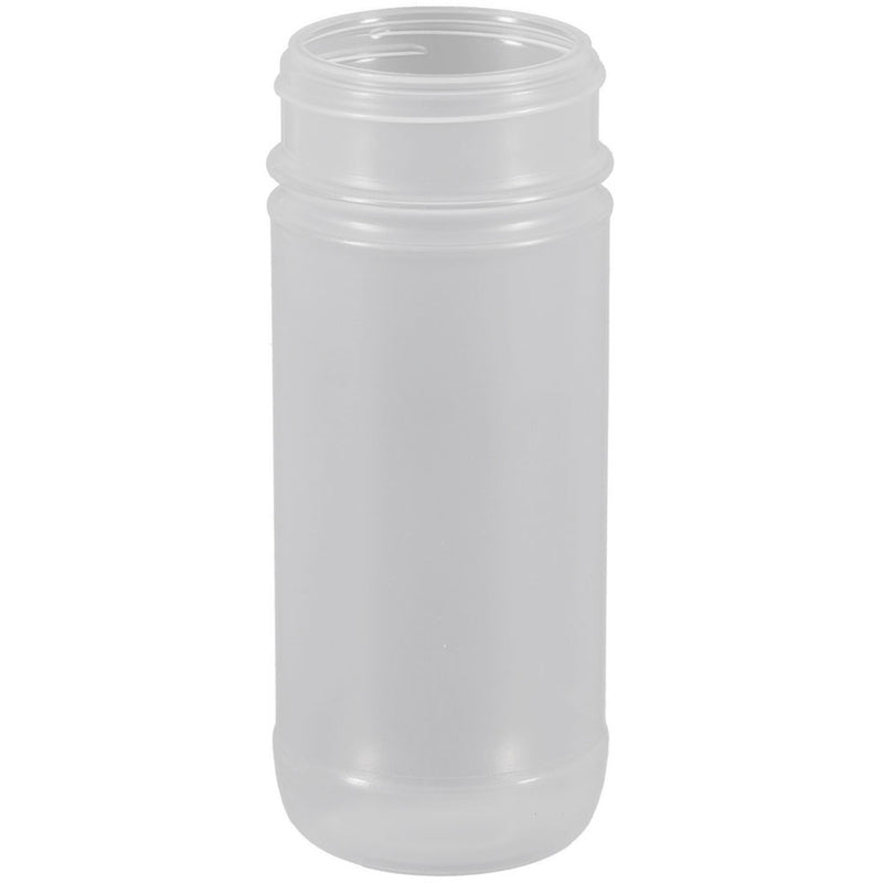 16 oz. Natural PP Plastic Spice Bottles (63-485)