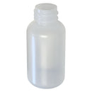 1 oz. Natural LDPE Plastic Boston Round Bottle (20-410)