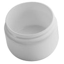 1 oz. White PP Plastic Double Wall Jars, Round Base (53-400)