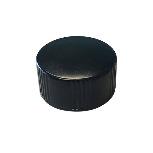 20-400 Black Phenolic Caps w/ Poly-Seal Cone Liner