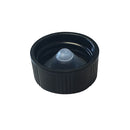 20-400 Black Phenolic Caps w/ Poly-Seal Cone Liner (Inside)