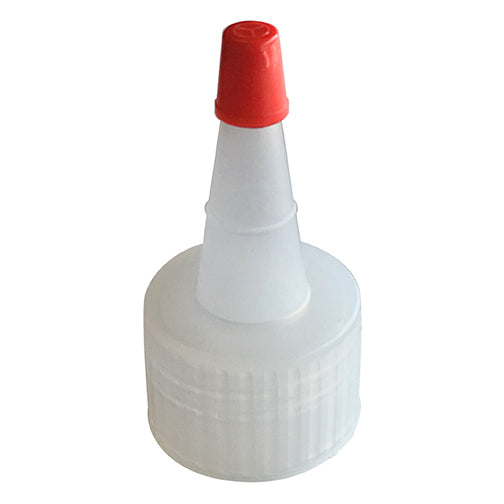 24-410 Natural Yorker Spout Caps, Red Sealer Tip