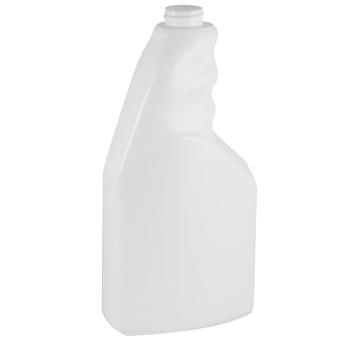 24 oz. White HDPE Trigger Spray Bottle (28-400)