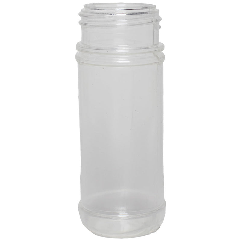4 oz. Clear K-Resin Plastic Spice Bottles (43-485)