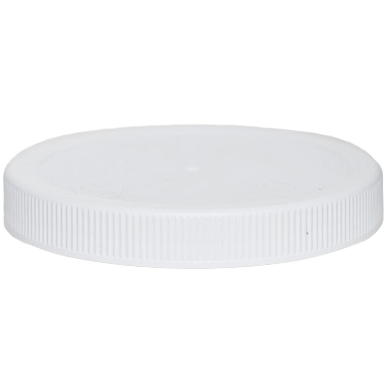 110-400 White Ribbed Caps (No Liner)