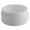 2 oz. White PP Plastic Jars, Round Base (70-400)