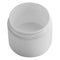 1 oz. White PP Plastic Double Wall Jars, Flat Base (53-400)