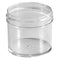 2 oz. Clear PS Plastic Jar (53-400)