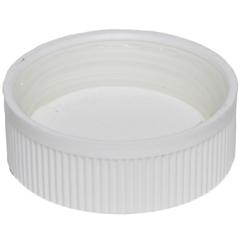 38mm (38-400) White Child Resistant Caps w/ PS-22 Liner (Inside)