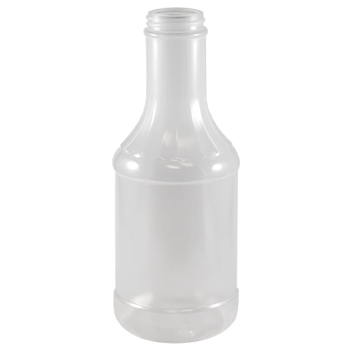 21 oz. Natural PP Plastic Fluted Dressing Bottles (38-400)