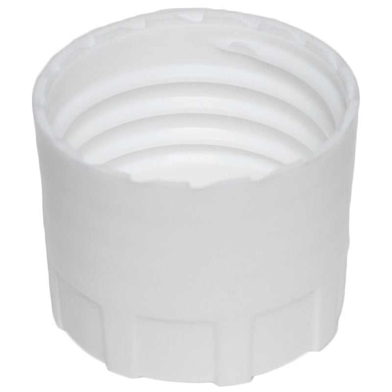 38-430 White Buttress Caps w/ F-217 Sureseal Foam Liner (Inside)