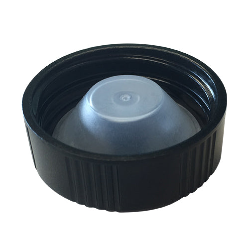 33-400 Black Phenolic Caps w/ Poly-Seal Cone Liner (Inside)