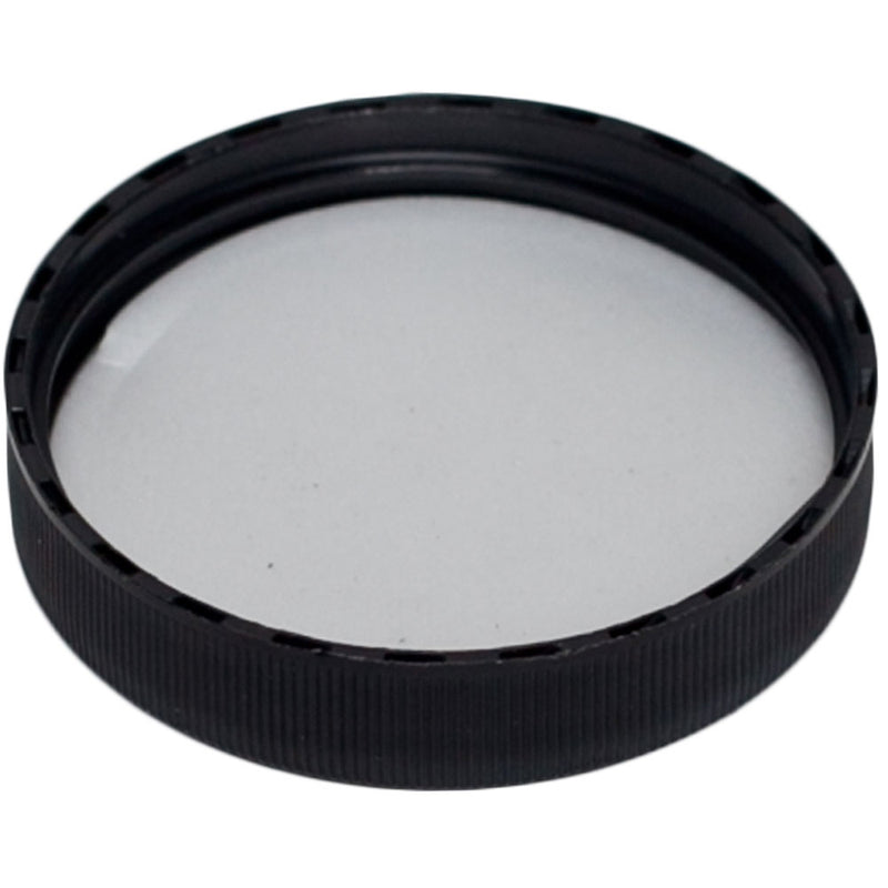 53-400 Black Ribbed Caps w/ F-217 Sureseal Foam Liner (Inside)