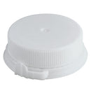 38mm Snap-Screw, White, Dairy Cap (Linerless)