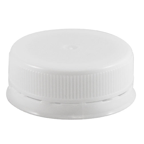 38mm, IPEC, White, Polypropylene (PP), Linerless, Dairy and Juice Caps