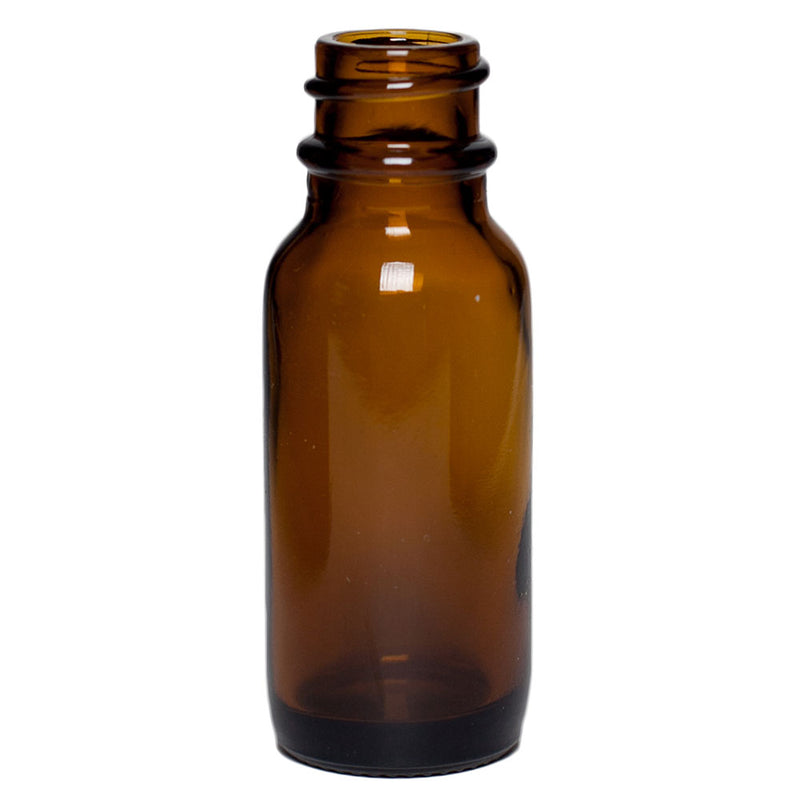 .5 oz. Amber Glass Boston Round Bottles (18-400)