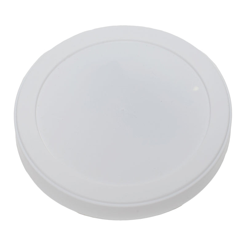 White LLDPE Plastic Long Skirt Tub Lids, L313