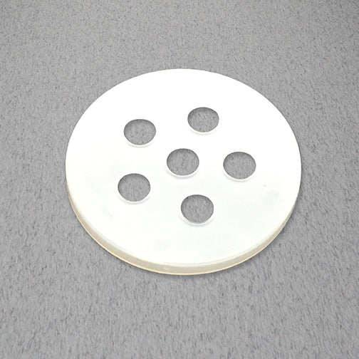 "43mm Sifter Fitments, 6 - 1/4"" Holes"