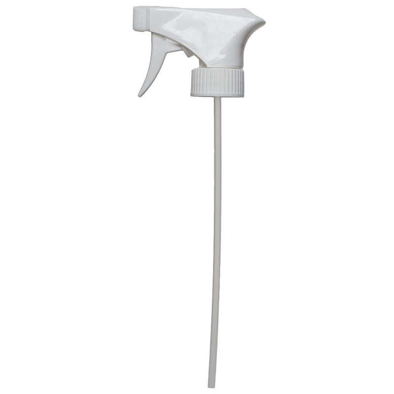 "28-400 White Trigger Sprayer, 9 1-4"" Tube"