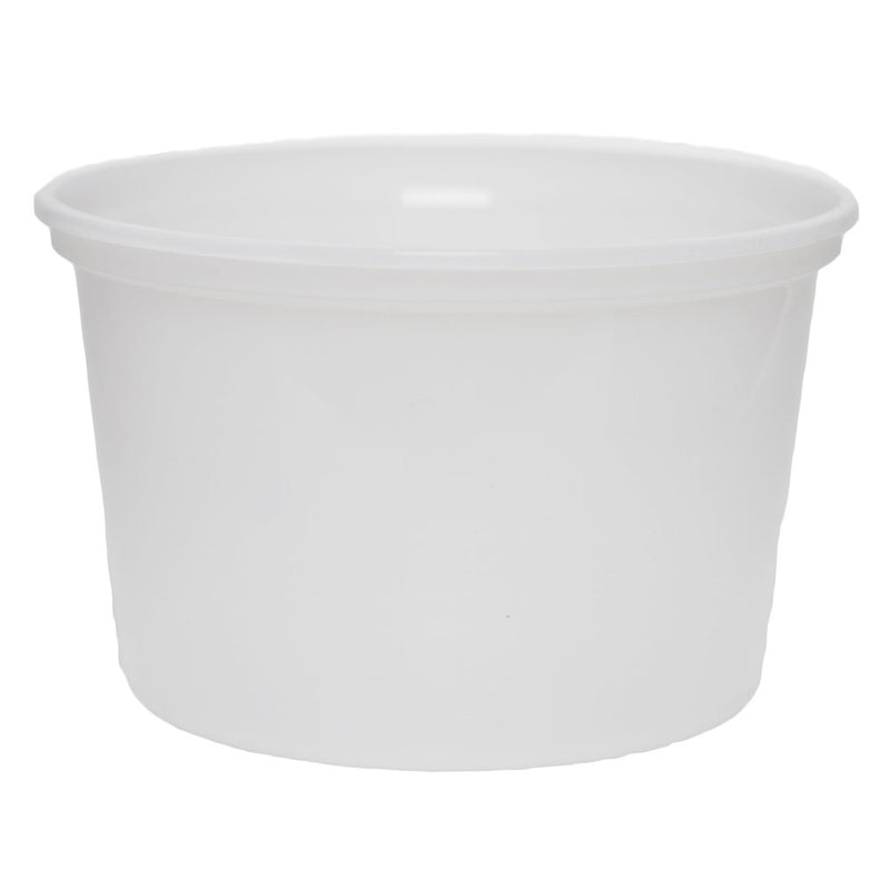 14 oz. Natural PP Plastic Tubs, L410