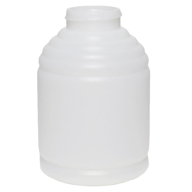 12 oz. Natural HDPE Skep Plastic Honey Bottles (38-400)