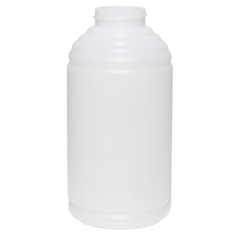 16 oz. Natural HDPE Skep Plastic Honey Bottles (38-400)