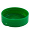 63mm (63-485) Green Polypropylene (PP) Spice Caps, Flip Top - Sift & Spoon, .200 Holes (Unlined)