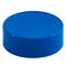 63mm (63-485) Blue Polypropylene Plastic Spice Caps (Unlined)