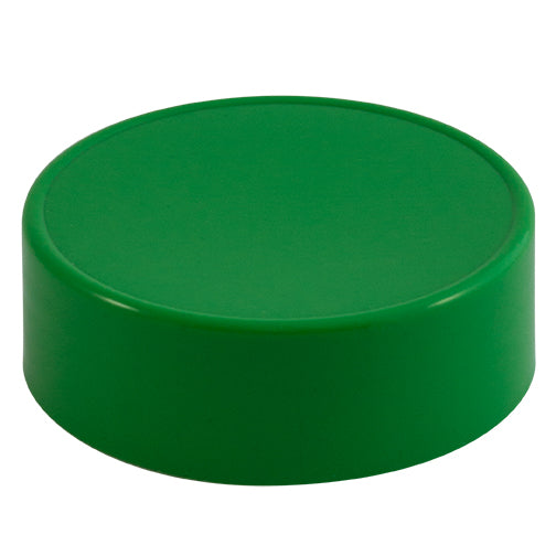 63mm (63-485) Green Polypropylene Plastic (PP) Spice Caps (Unlined)