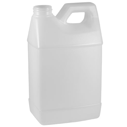 64 oz. Natural HDPE Plastic F-Style Bottles (38-400)