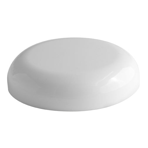 70-400 White Domed Caps (No Liner)