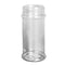 8.4 oz. Clear PET Plastic Spice Bottles, 53mm (53-485)