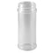 8.5 oz. Natural PP Plastic Spice Bottles, 53mm (53-485)