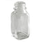 1 oz Clear French Square Glass Bottle (24-400)
