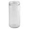 8 oz. Clear Glass Spice Jars (58-400)