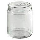 9 oz. Clear Flint Glass Wide-Mouth Jar (70-2030 Lug Neck)