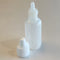 1/2 oz. Natural LDPE Plastic Boston Round Bottles (15-415)
