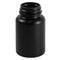 120cc Black HDPE Plastic Packer Bottles (38-400)