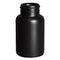 150cc Black HDPE Plastic Packer Bottles (38-400)