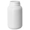 250 cc White HDPE Plastic Packer Bottles 45-400