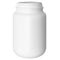 500cc WideMouth, White PET Plastic Packer Bottles (63-400)