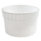 1.5 Gallon Natural HDPE Plastic Dairy Pails (FDA Approved and Freezer Safe)